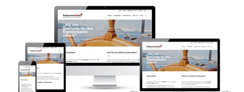 Unsere Webseite in neuem Design